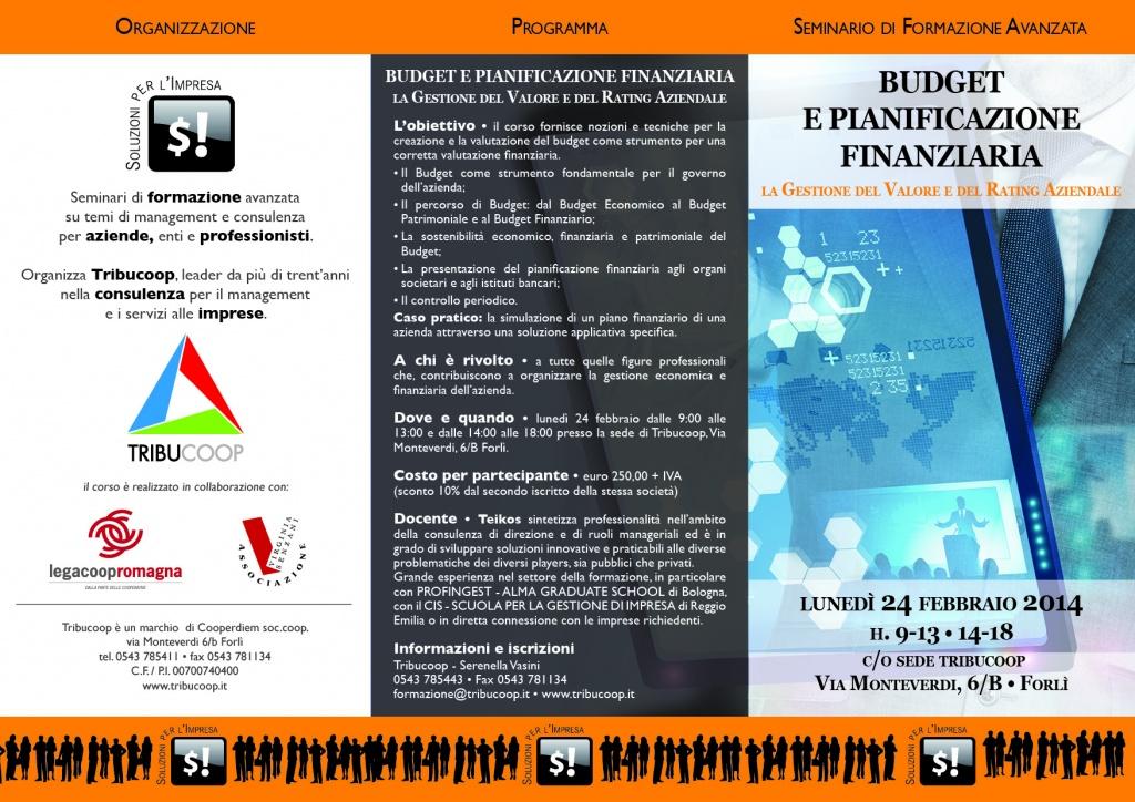 Budget e pianificazione finanziaria